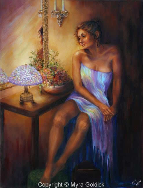Waiting by Myra Goldick