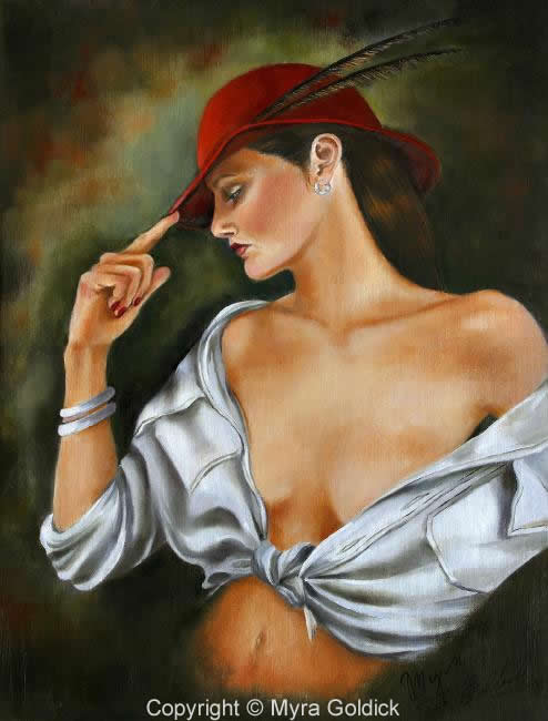 My Red Hat by Myra Goldick